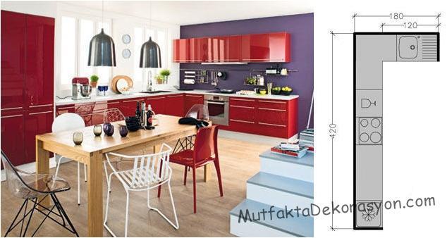 L tipi mutfak 1