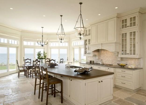 Krem rengi mutfak dolaplar hangi renklerle kullan l r for Decoration maison cuisine americaine