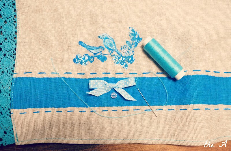 Как оформить вафельное полотенце в подарок своими руками 95