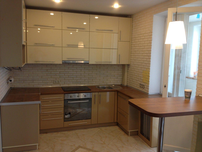 Koyu renkli modern bambu mutfak dolab modeli moda dekorasyonlar - Vizon Rengi Mutfak Dolaplari 7