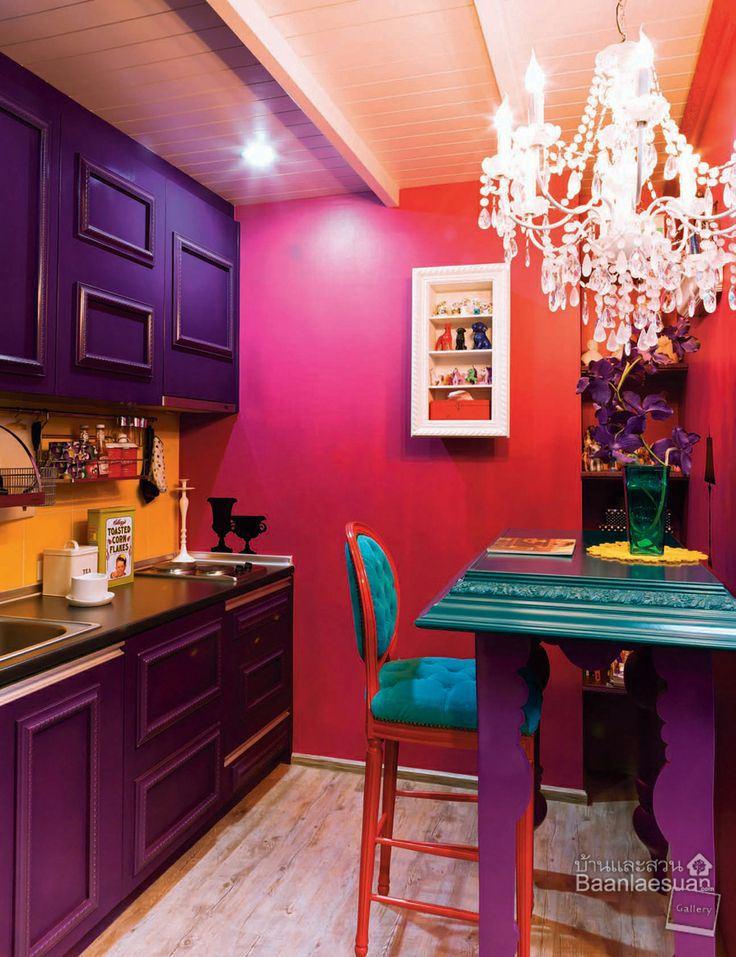 fusya-rengi-mutfak-dekorasyonu-12