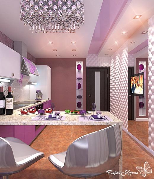 fusya-rengi-mutfak-dekorasyonu-20