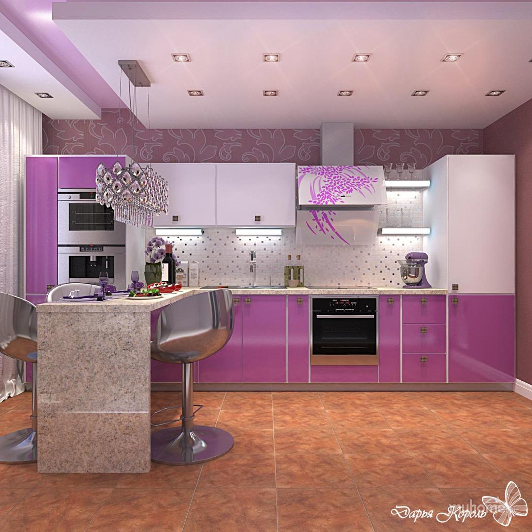 fusya-rengi-mutfak-dekorasyonu-24