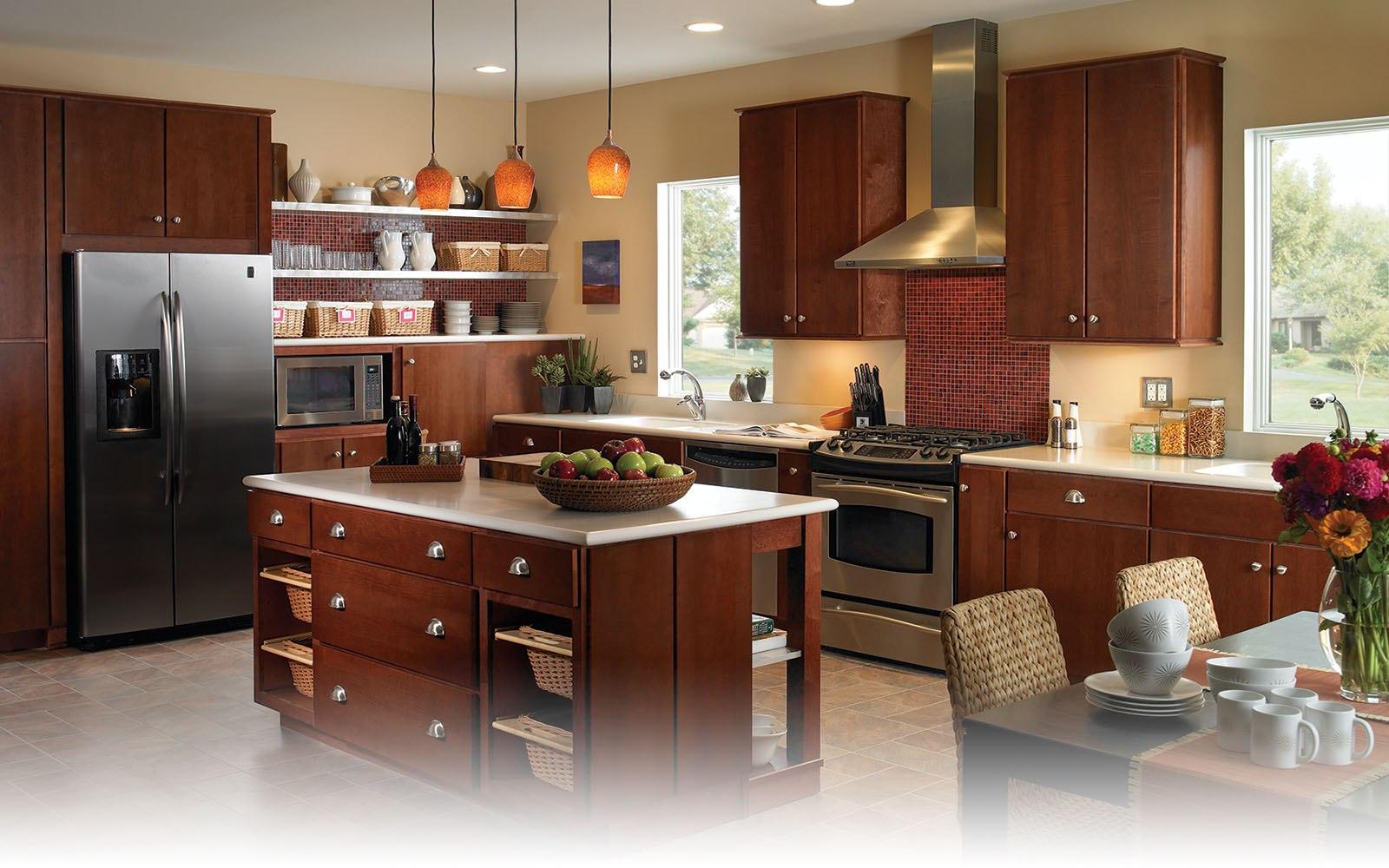 Balon kapak mutfak dolaplar ve mutfak dekorasyonu rnekleri for Kitchen designs jamaica