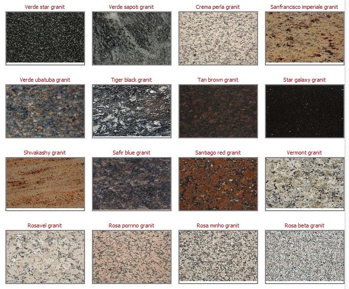 199 Imstone Ve Granit Mutfak Tezgahların Karşılaştırılması