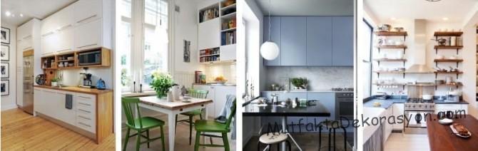 Uzun mutfaklar, tavana dayanıyor