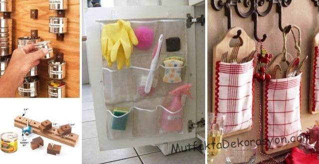 Kendi ellerle mutfak düzeni