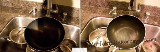 Aydınlatmış mutfak ve Sıradan mutfak karşılaştırması