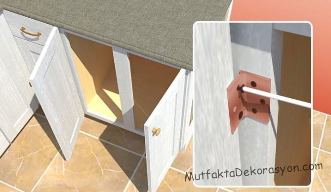 Mutfak Dolaplari Boyama Teknikleri Ve Renk Secimi Mutfak