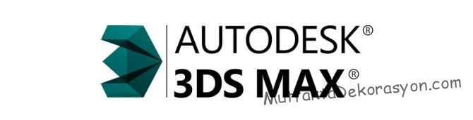 3D MAX Mutfak Çizim Programı