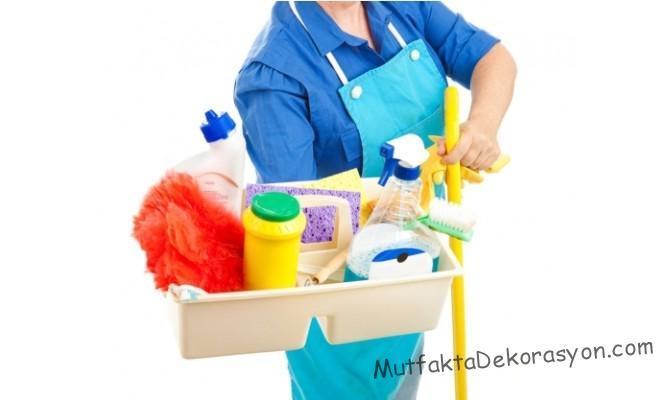 Bozdolabı temizliğinde kullanılan malzemeler
