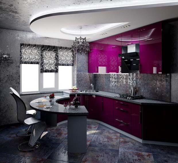 fusya-rengi-mutfak-dekorasyonu-16