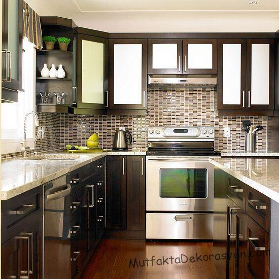 Embracing Darkness The Beauty Of The Black Kitchen: Ceviz Rengi Mutfak Dolapları